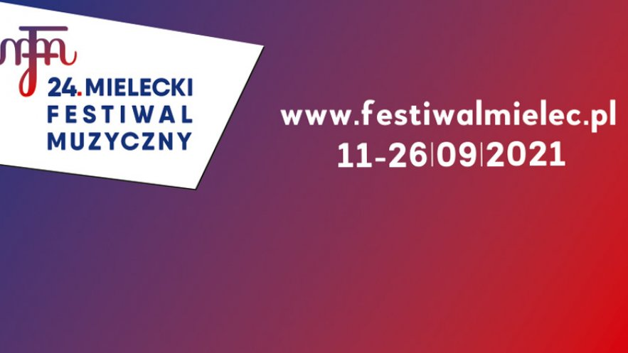 Grafika promocyjna 24. Mieleckiego Festiwalu Muzycznego